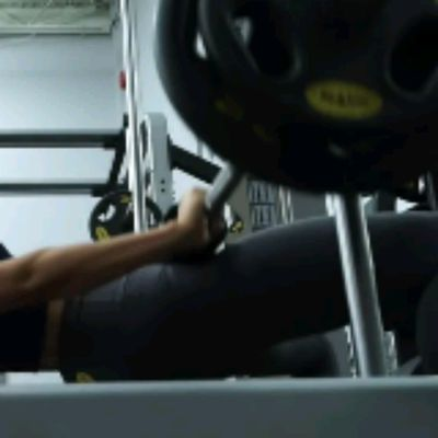 Barbell Hip Thrusters On Bench