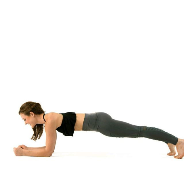 How to do: Dolphin Plank - Step 1