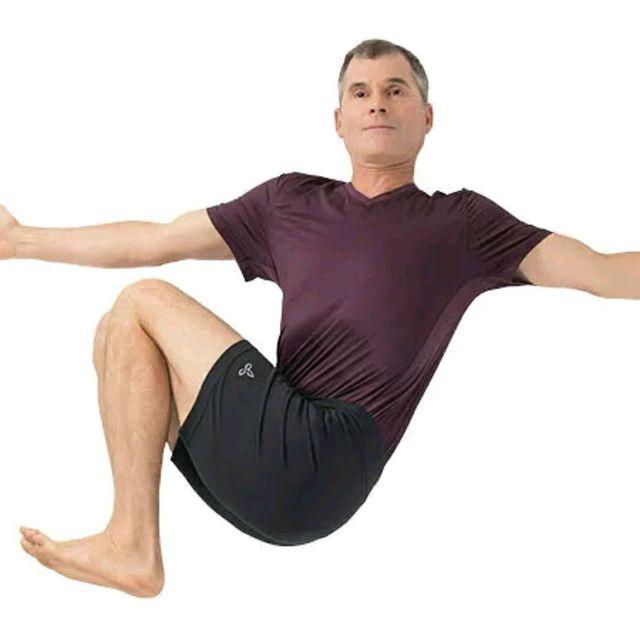 How to do: Master Revolved Abdomen Pose - Step 1