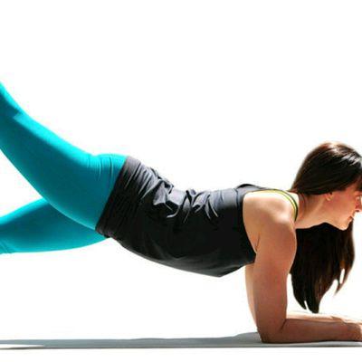 3 Point Forearm Plank