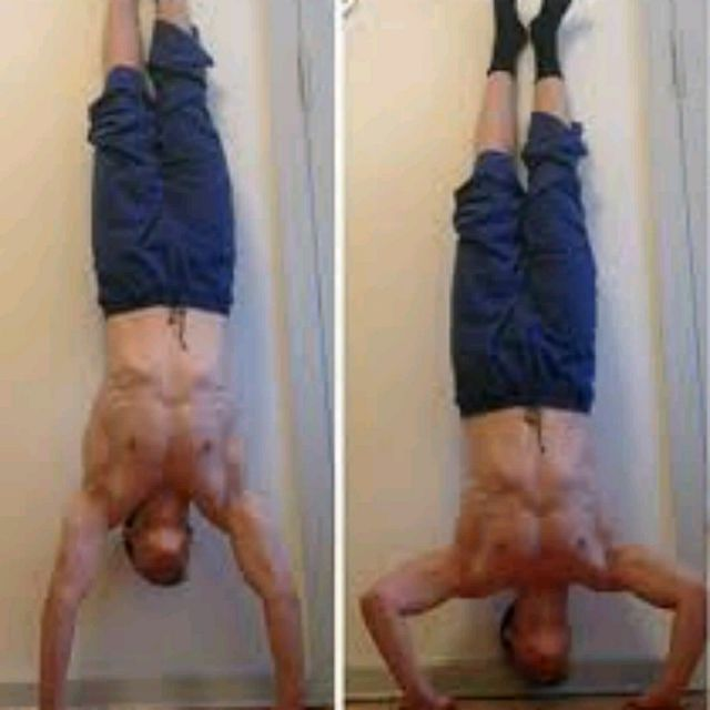 How to do: Handstand Pushups - Step 1