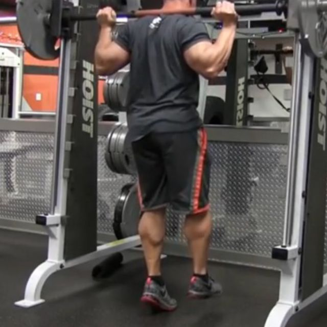 How to do: Single Leg Calf Raises - Step 2