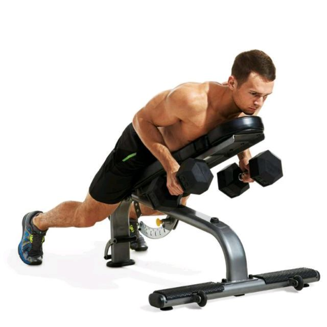 How to do: Incline Dumbbell Row - Step 2