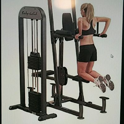 Machine-assisted Tricep Dips