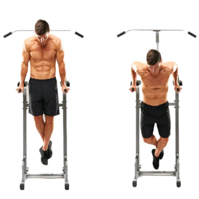 How to do: Triceps Dips - Step 1