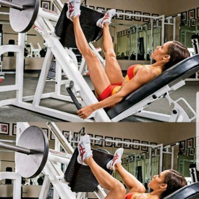How to do: Sumo Leg Press - Step 1