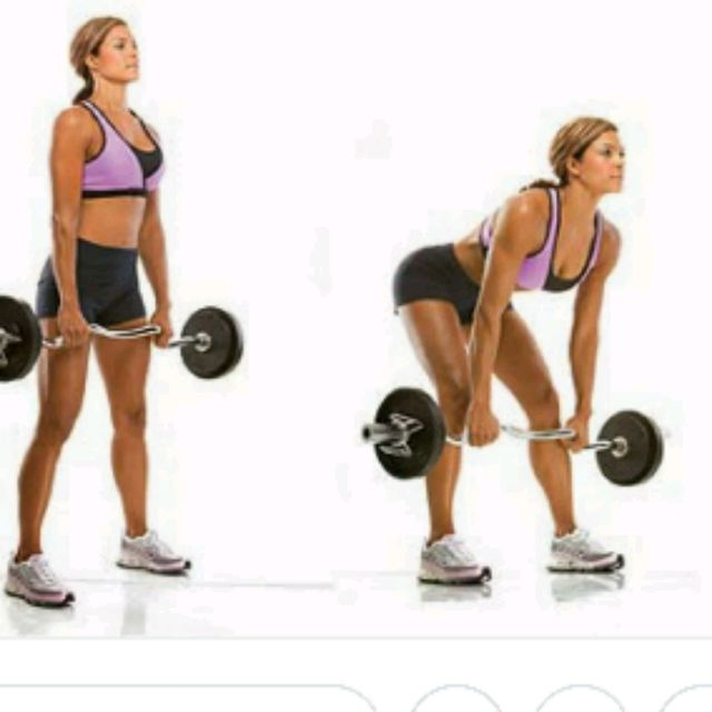 How to do: Stiff Leg Deadlifts - Step 1