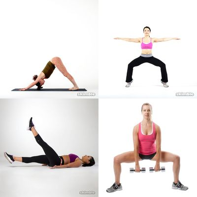 Legs and glutes (easy)