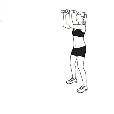 Elbow Squeeze To Shoulder Press
