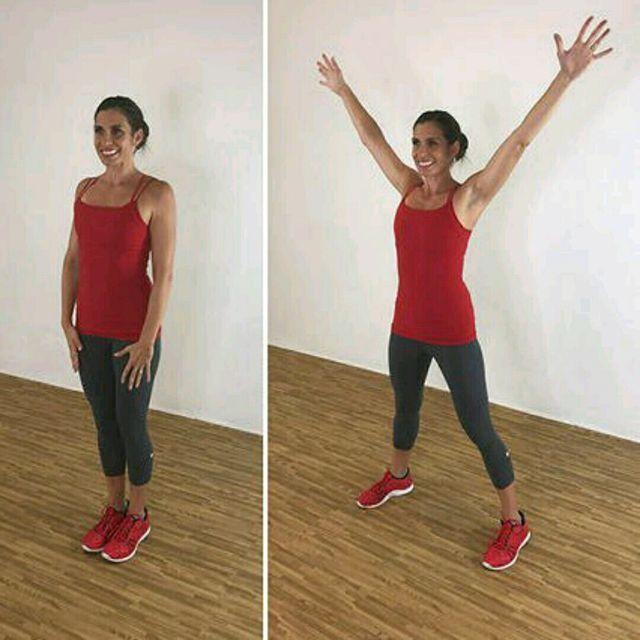 How to do: X Jacks - Step 2