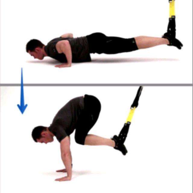 How to do: Trx Abs/pompe - Step 1