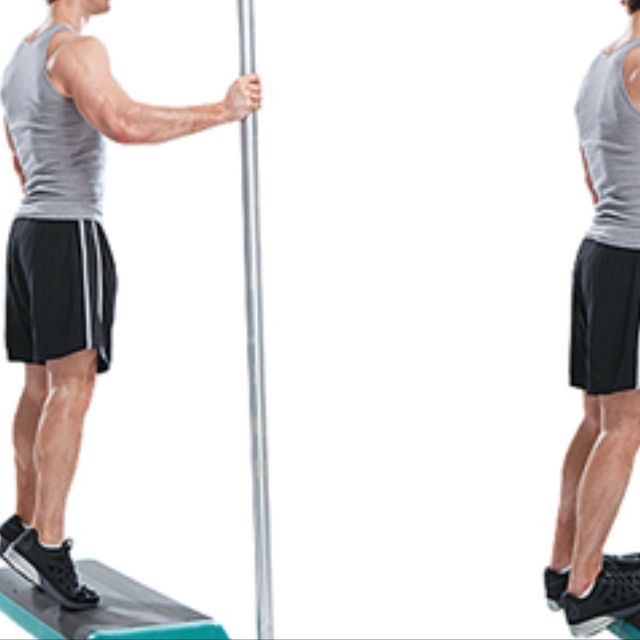 How to do: Calf Raise And Deceleration - Step 1