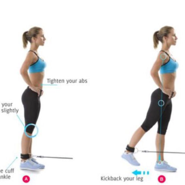 How to do: Freemotion Glute Pull - Step 1