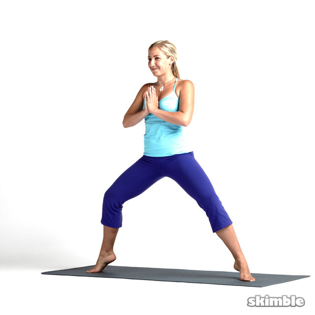 How to do: Horse Stance with Heel Ups - Step 7