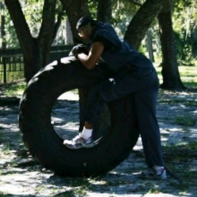 How to do: Tire Flipping - Step 1