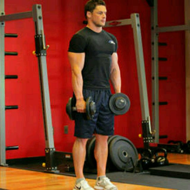 How to do: Stiff-Legged Dumbbell Deadlift - Step 1