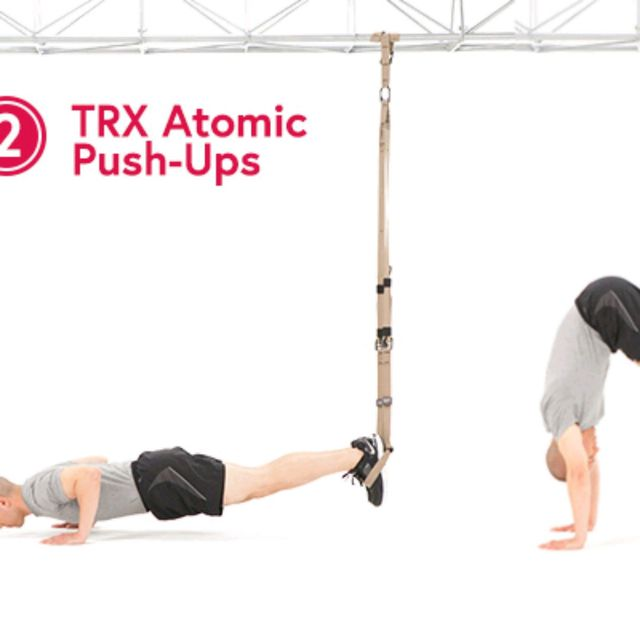 How to do: Atomic push up - Step 1