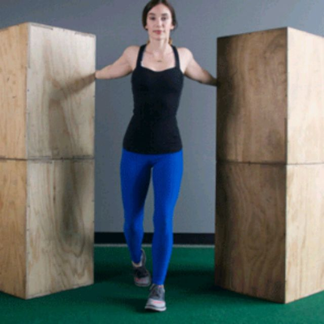 How to do: Doorway Stretch Warm Up - Step 2