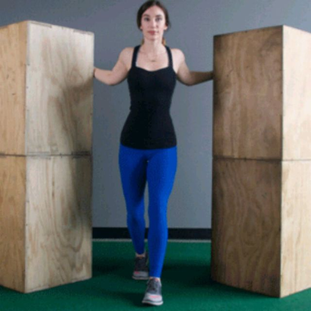How to do: Doorway Stretch Warm Up - Step 3