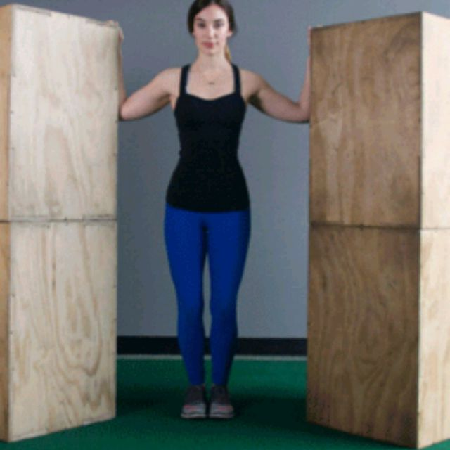 How to do: Doorway Stretch Warm Up - Step 4