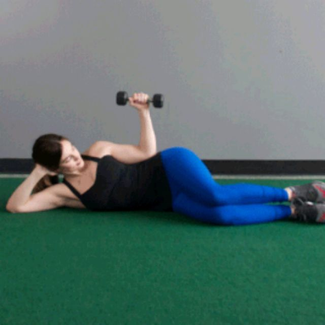 How to do: Side Lying External Rotation - Step 2