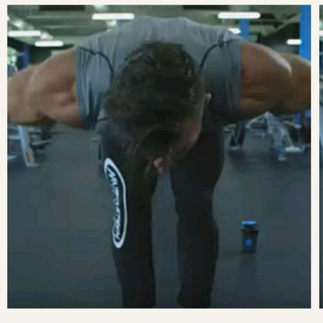 How to do: Bent Over Cable Row - Step 1