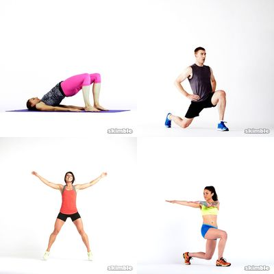 Begin With Lower Body Strength