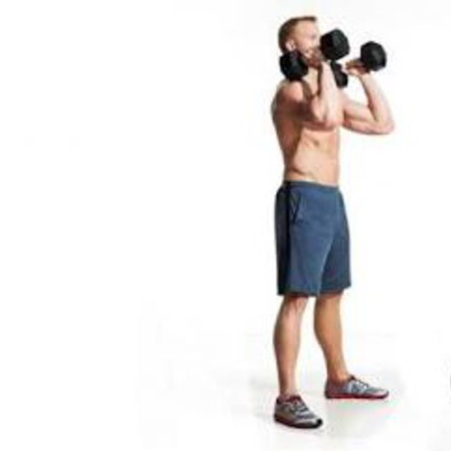 How to do: Dumbbell Front Squat - Step 1