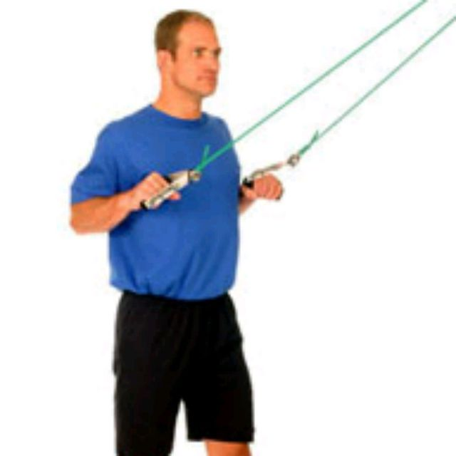 How to do: Shoulder Lat Pulldown - Step 1