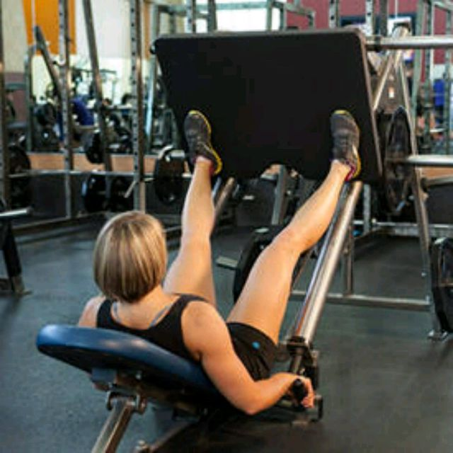 How to do: Leg Press Feet Wide - Step 1