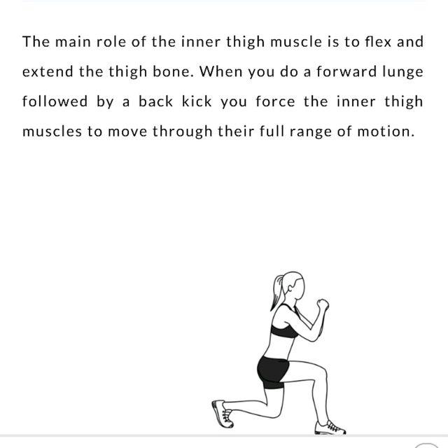 How to do: Lunge back Kick - Step 1