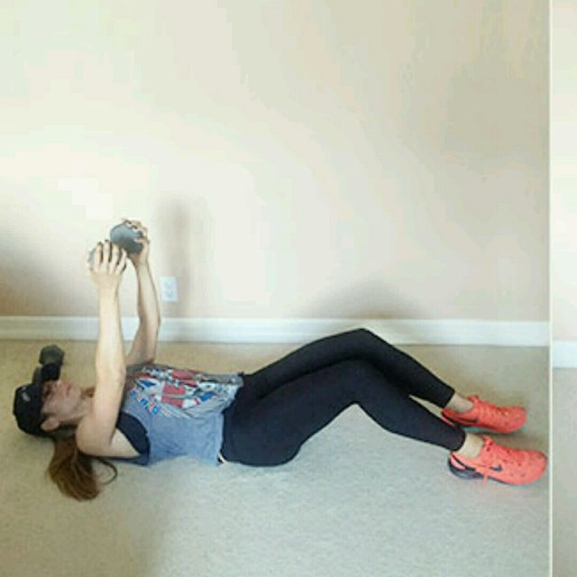 How to do: Dumbbell Sit-up - Step 1
