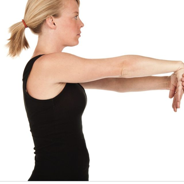 How to do: Forearm Stretch - Hand Down - Step 1