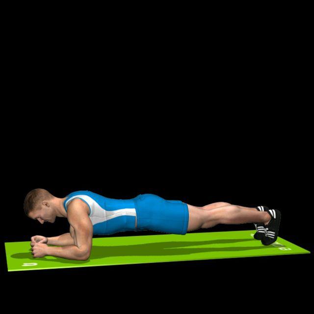 How to do: Plank a terra - Step 1