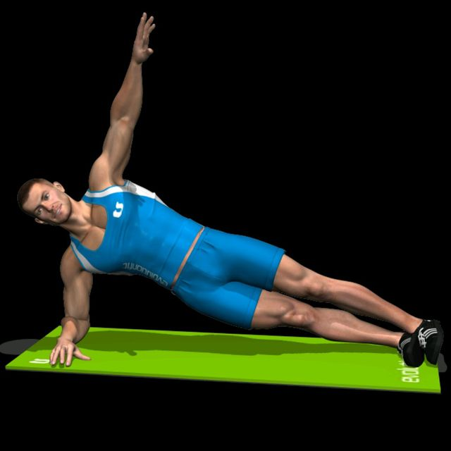How to do: Side plank - Step 1