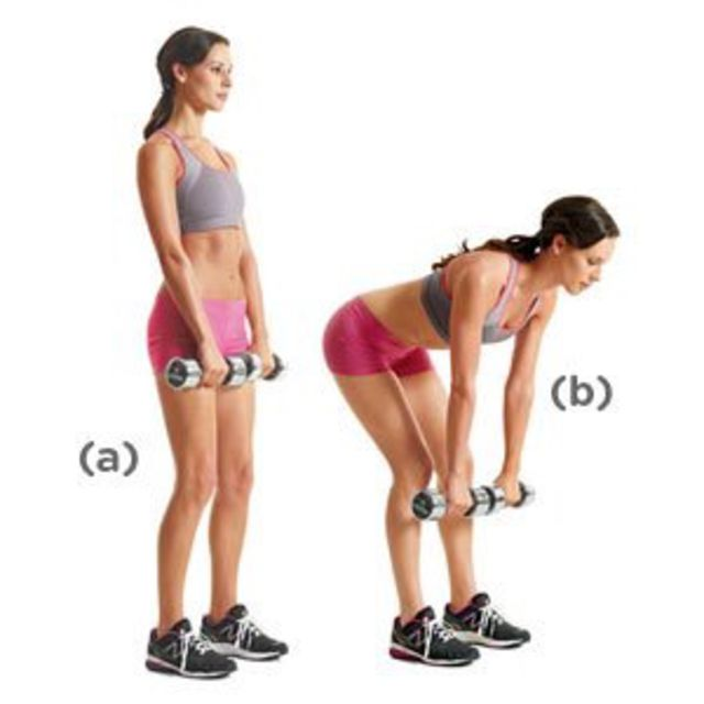 How to do: Dumbbell Deadlifts - Step 1
