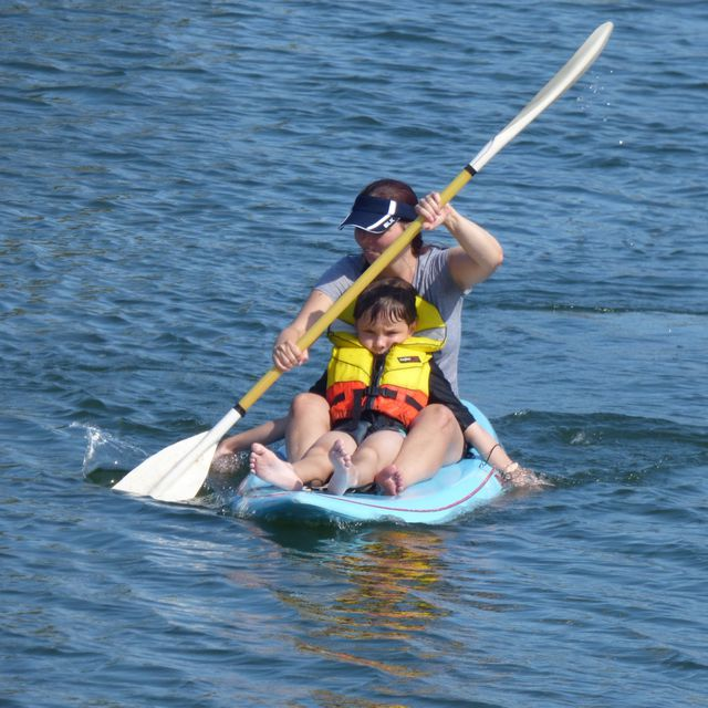 How to do: Kayak - Step 1
