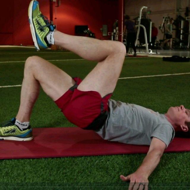 How to do: One Leg Bridge - Step 2