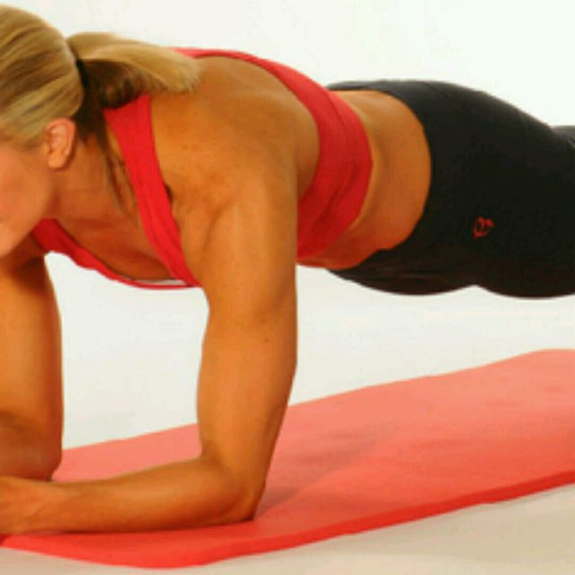How to do: Front Plank - Step 1