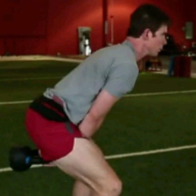 How to do: Kettlebell Swings (mine) - Step 1