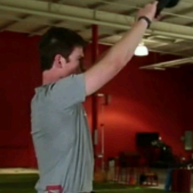 How to do: Kettlebell Swings (mine) - Step 3