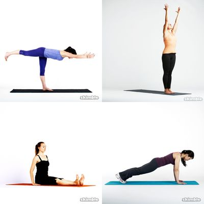 Yoga/Pilates Mix *HW*
