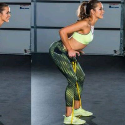 Bent Over Rows W/Band