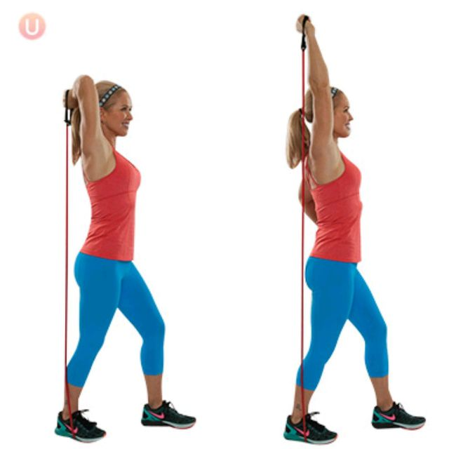 How to do: Tricep Extension Right - Step 1
