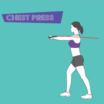Chest Press W/Band