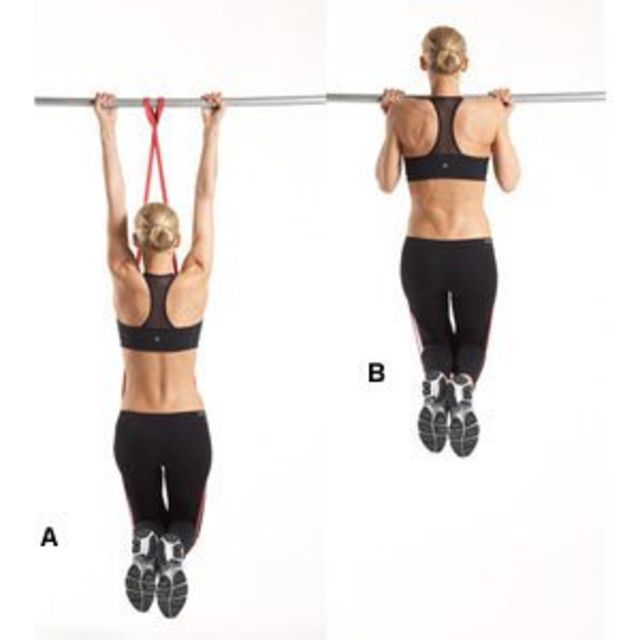 How to do: Assisted Pull-Up - Step 1