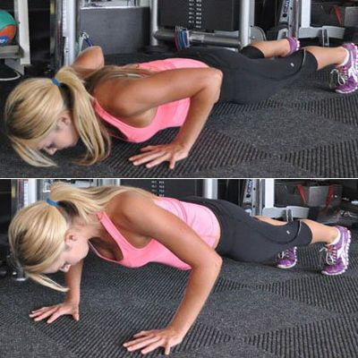 Pushup Holds