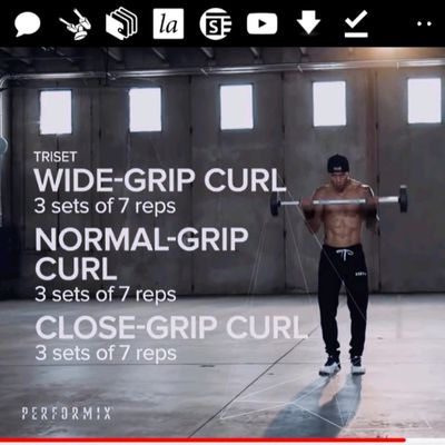 Close Grip Curl