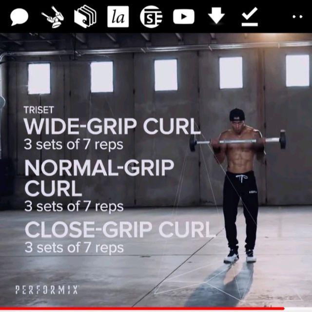 How to do: Close Grip Curl - Step 1