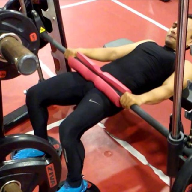 How to do: Smith Machine Hip Thrusts - Step 3